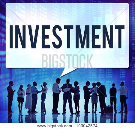 Investment Financial Economy Interest Risk Concept