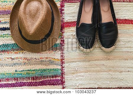 Flatlay Womens Fashion Accessories