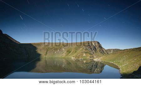Mountain Lake By Night - Rila, Bulgaria