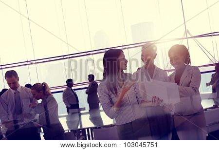 Business Team Meeting Discussion Board Room Concept