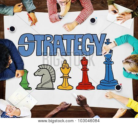Strategy Thinking Think Plan Planning Braimsotrming Concept