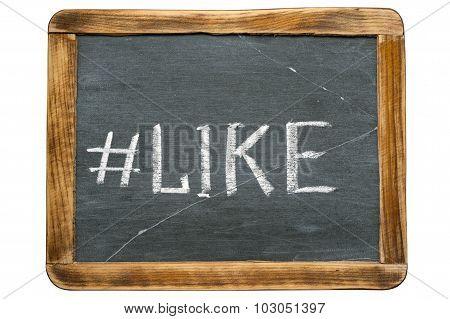 Like Hashtag