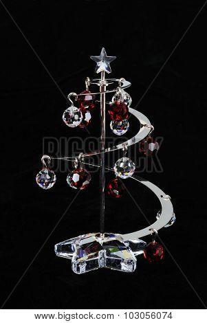 Crystal Christmas tree.