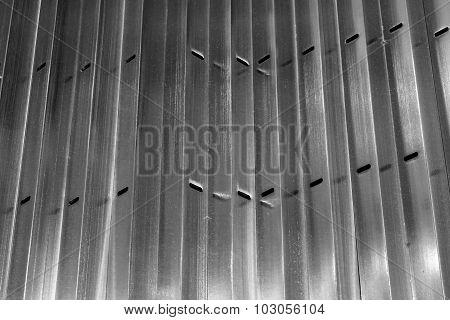 Abstract Metal Sharp