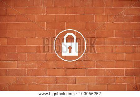 Padlock Protect Password Security Symbol Concept