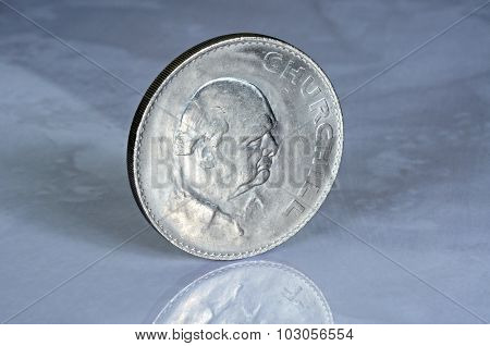 Winston Churchill Coin.