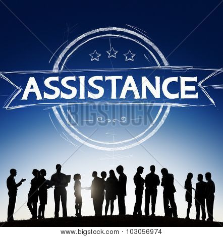 Assistance Collaboration Cooperation Help Support Concept