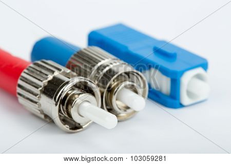 Fiber Optic Connectors, St, Sc And Fc