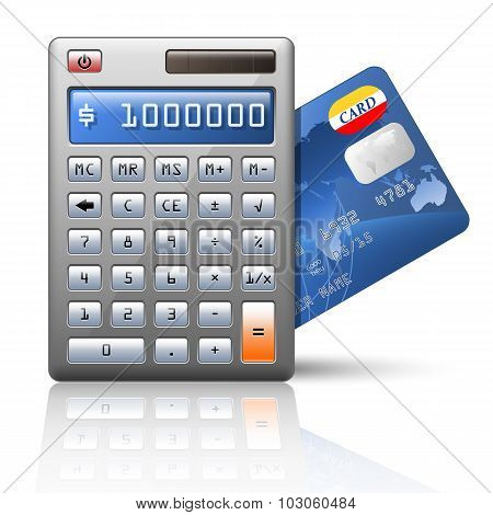 Vector Calculator And Credit Card