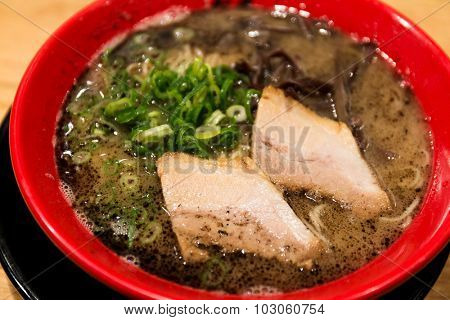 Ramen Noodles of japan