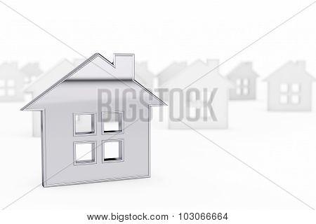 3D Still Abstract House