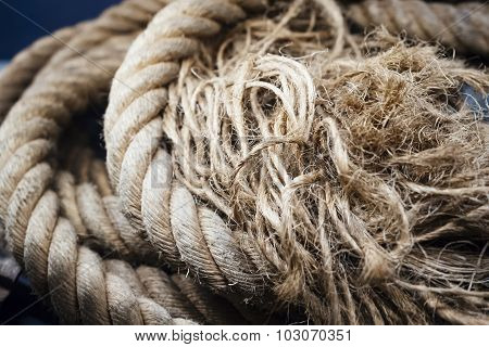 Rope Textured Close Up