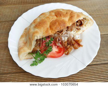 Doner kebab Turkish national food