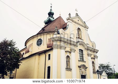Carmelite Church In Gyor