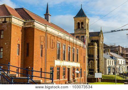 View Of City Hall Of Portstewart - Northern Ireland