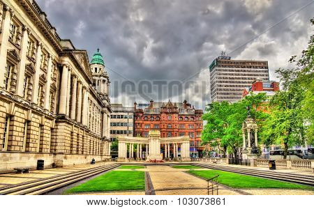 View Of Belfast City Hall - Northern Ireland