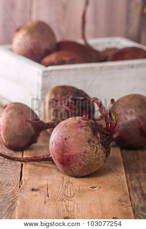 Fresh Organic Red Beets