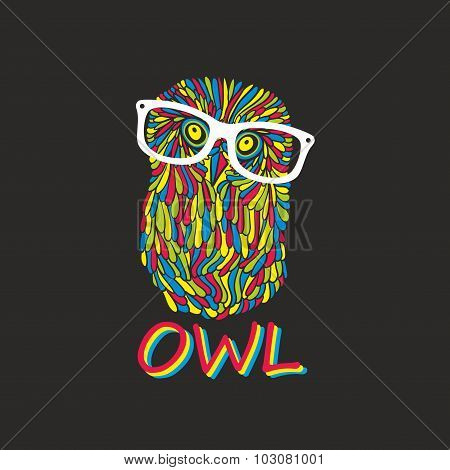 Hipster owl.