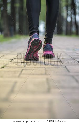 Runner Athlete Legs, Training Exercise Outdoor Jogger Runner