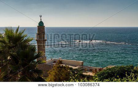 Minaret in Old Jaffa