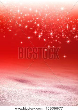Magic Snow Background