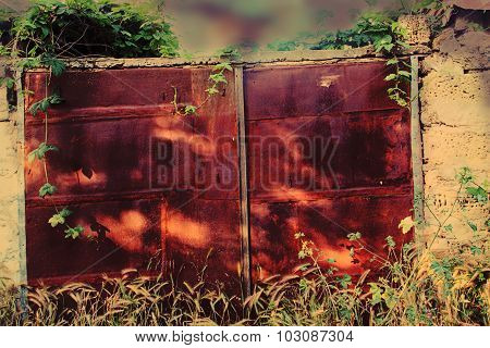 The Rusted Gate.