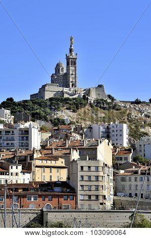 The Basilica Of Notre Dame De La Garde