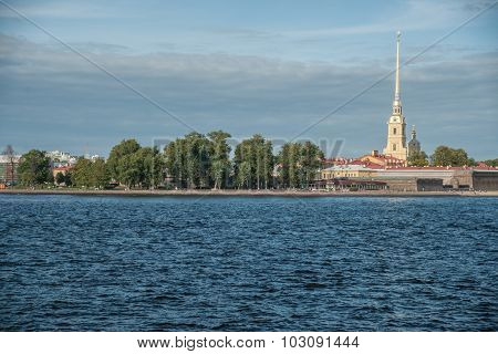 Peter and Paul Fortress  in Saint-Petersburg