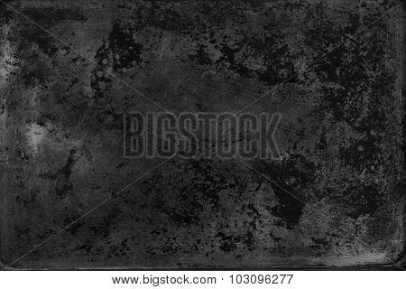 Dark grunge textured wall closeup