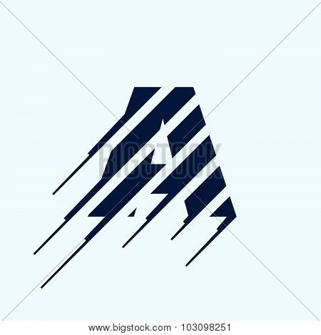 Letter A Logo Design Template.