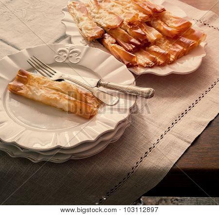 Serving Tasty Pasta, Food Background
