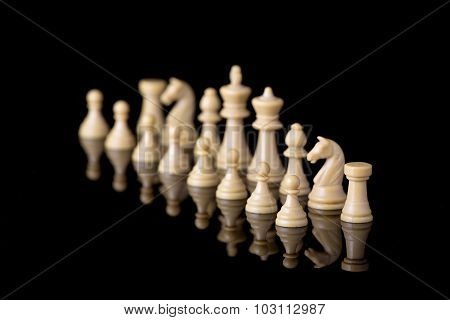 White Chessman Army