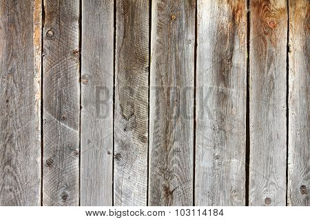 Old Damaged Spruce Planks