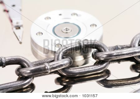 Chain And Harddisk