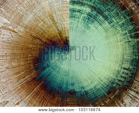 Grunge background or texture for your design. With different color patterns: yellow (beige); brown; green; blue