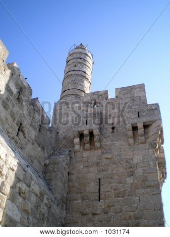 Tower Of King David And Walls Of Jerusalem