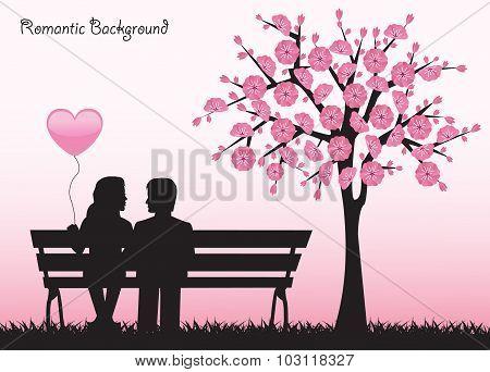 date under the cherry tree