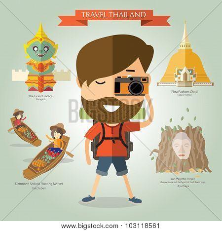 tourist travel to Thailand