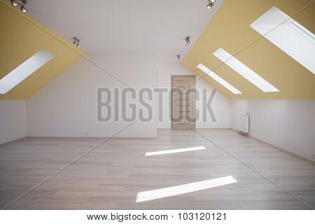 Spacious Attic Room