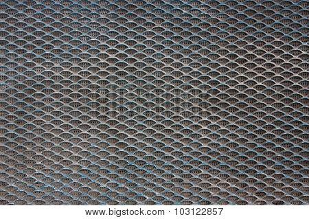 Sieve Texture, Close up.