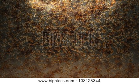 Old Weathered Metal Wall Background