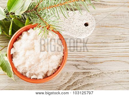 Aromatic Salt And Pumice Stone