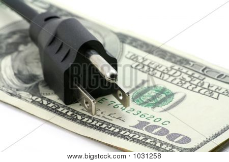 Konzept der teuren Energierechnung