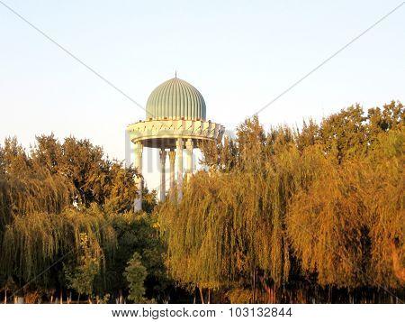 Tashkent Almazar Park Evening 2007