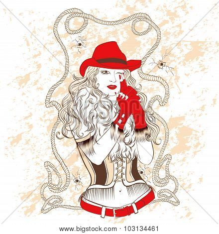 Cowgirl.eps
