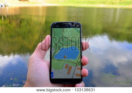Find me - lake