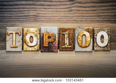 Top 100 Concept Letterpress Theme