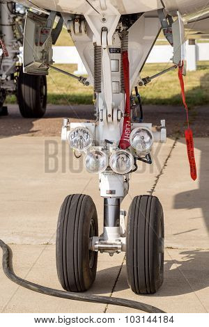 Landing Gear Of Airplane