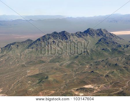 Mountains Aerial View