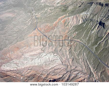 Rocky Terrain Of Nevada